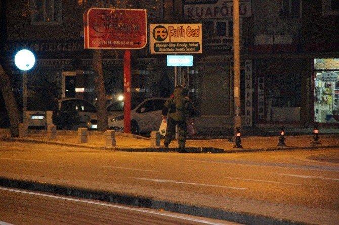 Konya'da Şüpheli Paketten Tüp Çıktı