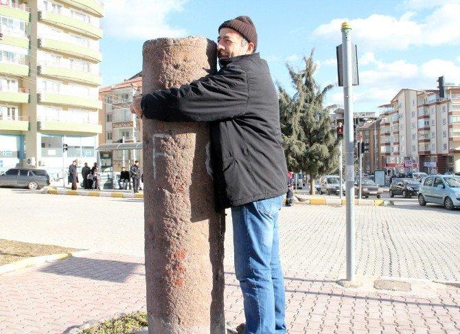 Çankırı'da Dilek Taşına Yoğun İlgi
