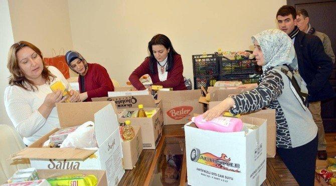 Erzurum Barosu Kadın Hakları Komisyonundan Suriyelilere Yardım