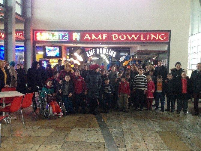 Trabzon'da Özel Eğitim Alan Çocuklar Gönüllerince Eğlendi