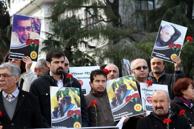 Ankara katliamının üçüncü ayında ölenleri andılar