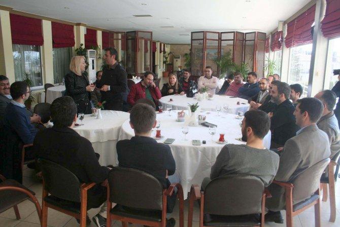 KAPTİD, gazetecilerle buluştu