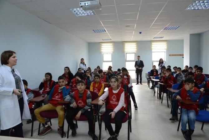 Verem Savaş Haftasında Çocuk Meclisi Üyeleri Verem Konusunda Bilgilendirildi