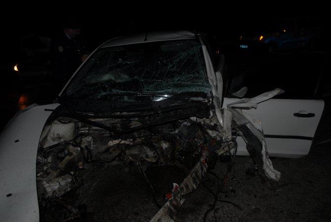 Kırıkkale'de kaza: 3 ağır yaralı