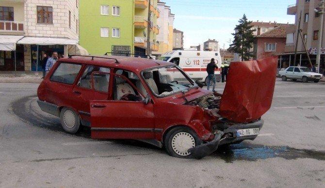 Ereğli'de Trafik Kazası: Dört Yaralı
