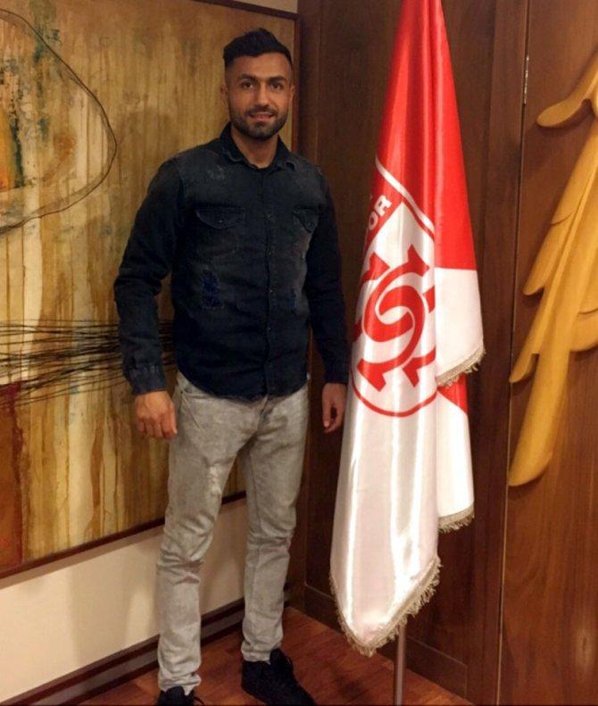 Sivasspor'a Alman futbolcu
