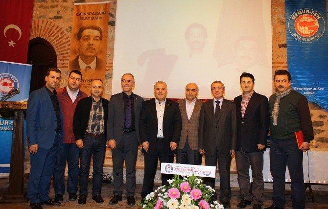 Mehmet Akif İnan Bursa'da Anıldı