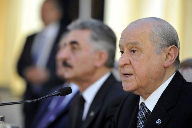 Bahçeli: Türkiye'ye seçilmiş despot değil, yeni bir anayasa gerekmektedir