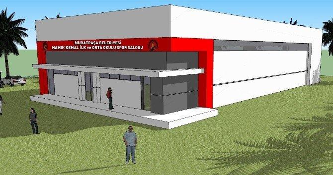 Muratpaşa Spor Salonu Yapıyor