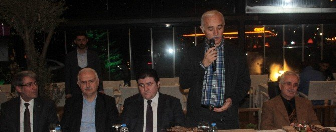 MÜSİAD Üyeleri Erzurum'da Gala Yemeğinde Biraraya Geldi
