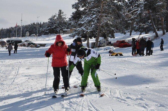Sarıkamış Cıbıltepe Kayak Tesisleri Sarıkamış Cıvıl Cıvıl