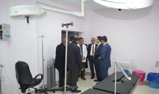Kaymakam Devlet Hastanesi'nde Hastaları Ziyaret Etti
