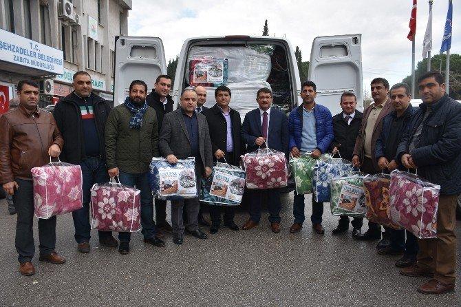 Bayırbucak Türkmenlerine Yardım Yağıyor