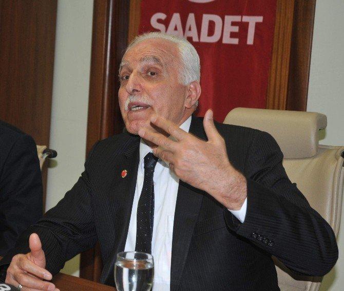 Saadet Partisi Genel Başkanı Kamalak Afyonkarahisar'da