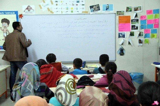 Savaşın Çocuklarına Büyükşehir'den Eğitim Hizmeti