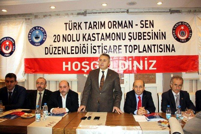 Türk Tarım Orman-sen Genel Başkanı Demirci'den 'İş Güvenliği' Açıklaması