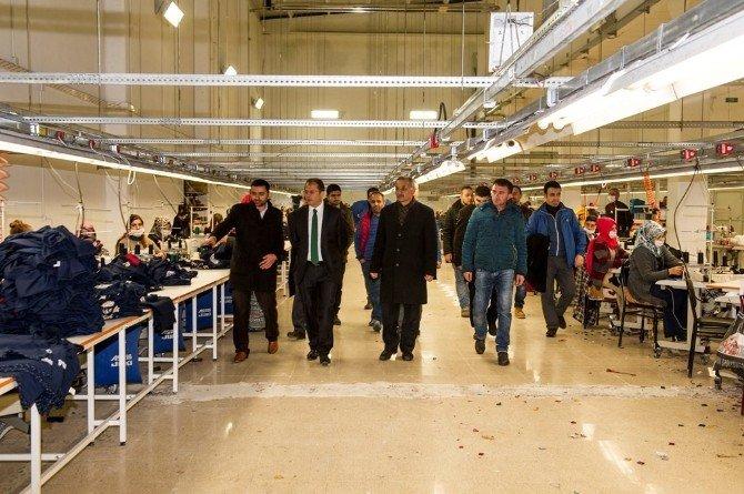Tekstil Kentte İlk Fabrika Açıldı
