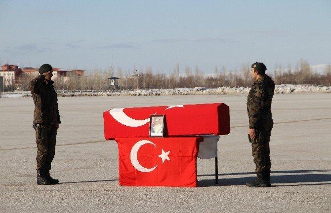 Şehit Polise Hazin Tören