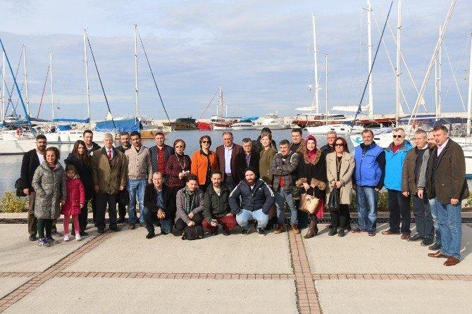 Yalova Belediye Başkanı Vefa Salman Çalışan Gazeteciler Gününü Kutladı