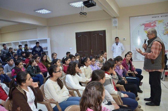 Yazar Fahri Tuna, Öğrencilerle Buluştu