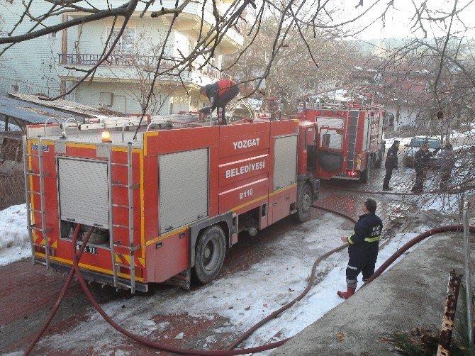 İtfaiye Aracı Bozuldu, Yangın Büyüdü