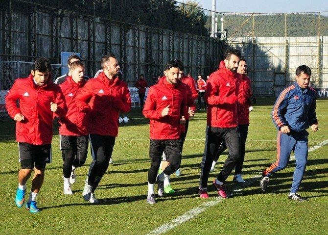 Gaziantepspor, Kupa Maçı Hazırlıklarına Başladı