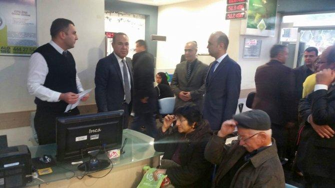 Başkan Sözlü ASKİ'yi ziyaret etti