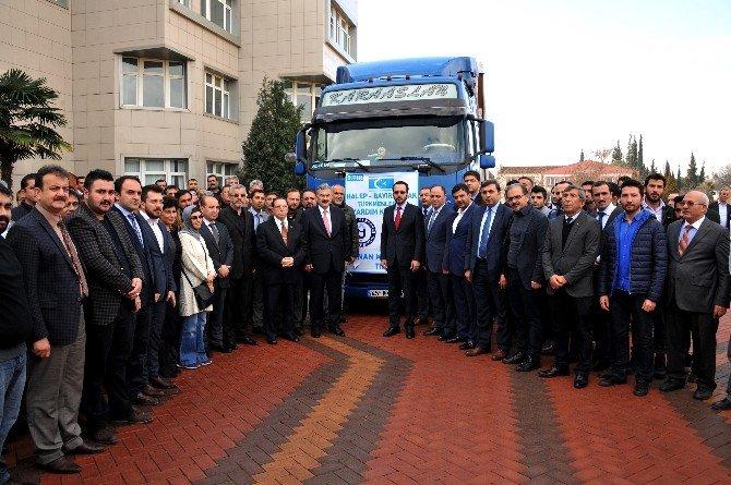 ADÜ'den Bayırbucak Türkmenlerine İnsani Yardım