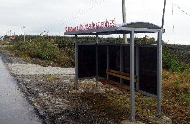 Alanya'da 9 Mahalleye 15 Kapalı Durak