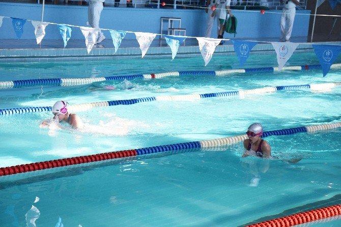 Analig'de Yüzme Heyecanı Yaşandı