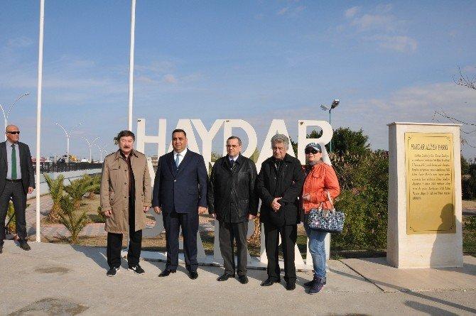 Büyükelçi Bağırov Ve Prof. Dr. Kaseinov Tarsus'u Ziyaret Etti