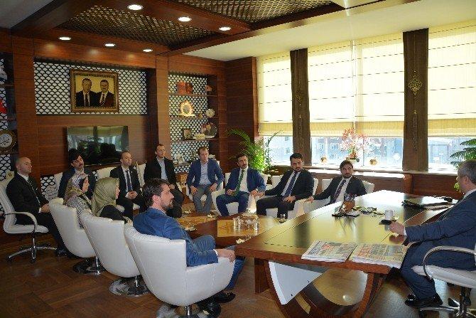 Başkan Baran, Tügva'yı Ağırladı