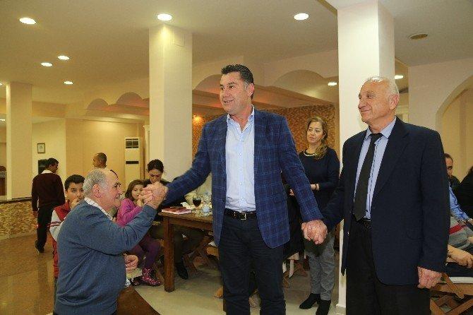 Başkan Kocadon, Emekli Astsubaylarla Bir Araya Geldi