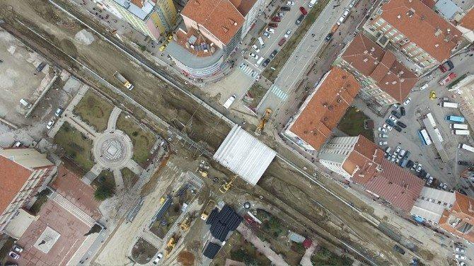 Kütahya'nın Vizyon Projesi 'Battı-çıktı' Gökyüzünden İşte Böyle Görünüyor