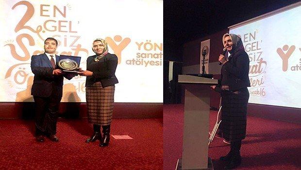'Aydan Bol' Jüri Ödülü Eş Başkan Dağkarın'a Verildi