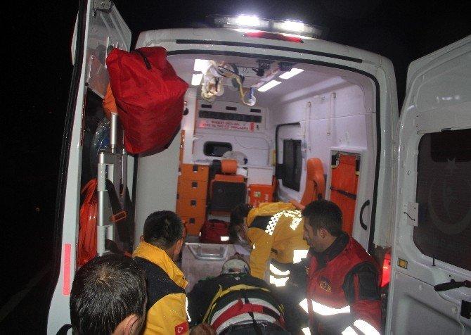 Bolu'da Trafik Kazası 1 Yaralı