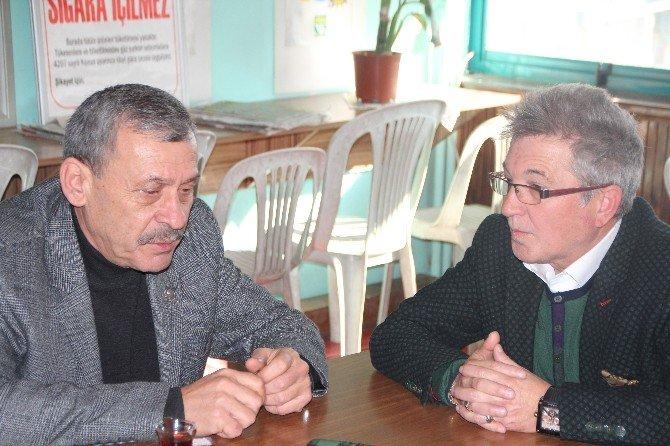 CHP Heyetinden İHA Ekibine Ziyaret