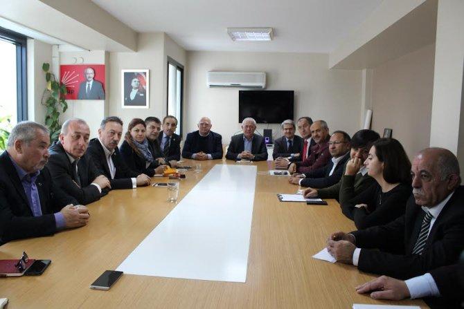 CHP İl Başkanı Yüksel: Ülkede savaş istemek suç değil, barış istemek suç