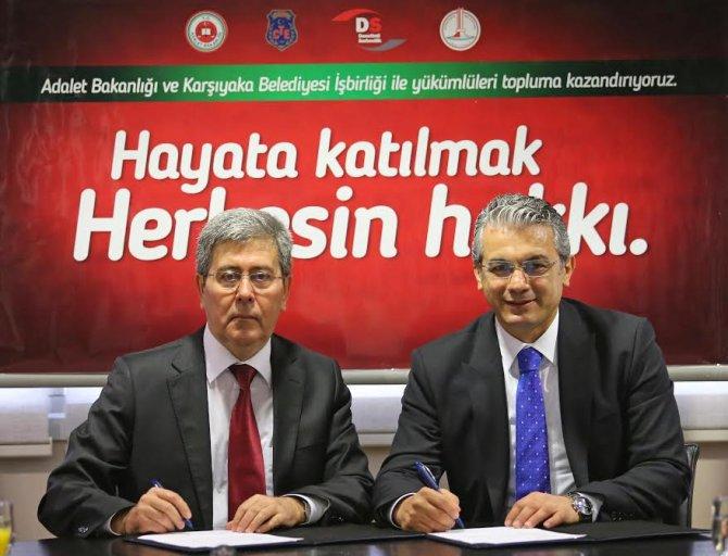 Belirlenen hükümlüler Karşıyaka Belediyesi'nde çalışacak