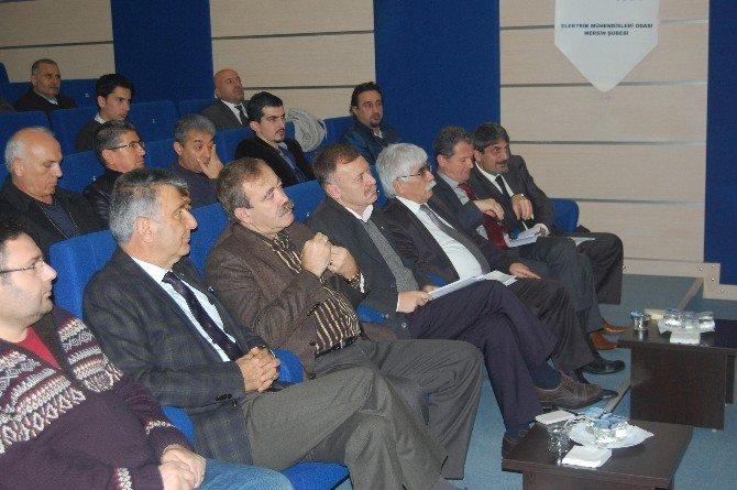 Emo Mersin Şubesi'nde Atar Yeniden Başkan
