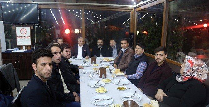 Başkan Tollu, Gazetecilerle Buluştu