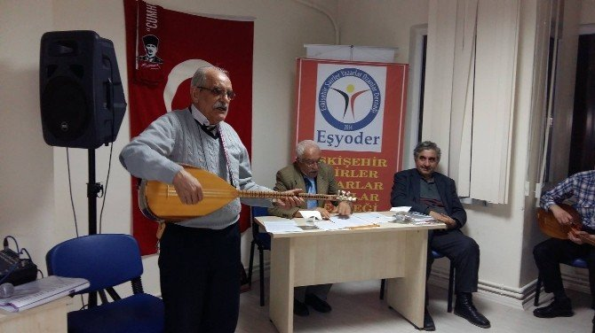 Eşyoder'den ''Şiir Ve Türkü Şöleni'' Gecesi