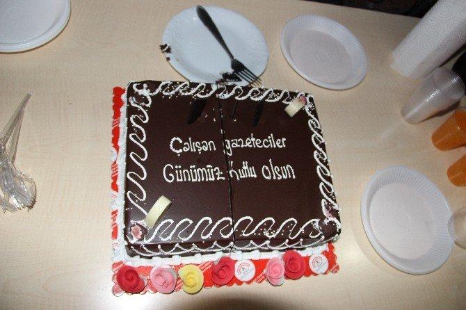 Dişlioğlu, Gazeteciler Gününü Kutladı