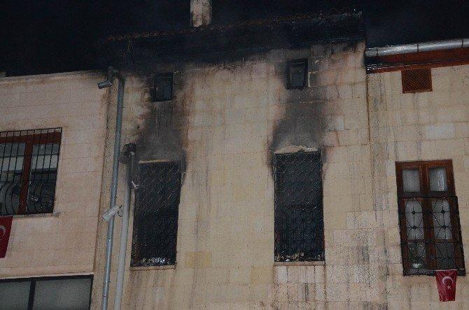 Eski Antep Evinde Yangın: 1 Ölü