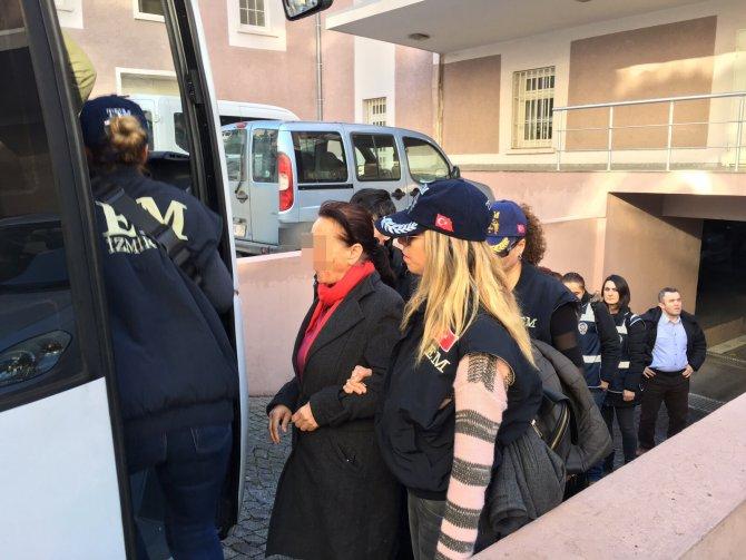HDP İzmir İl Eş Başkanı Aykan'ın da bulunduğu 24 kişi adliyeye sevk edildi