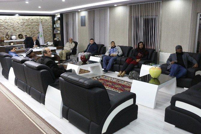 Abu Dabili Turizmciler Yahyalı'yı Gezdi