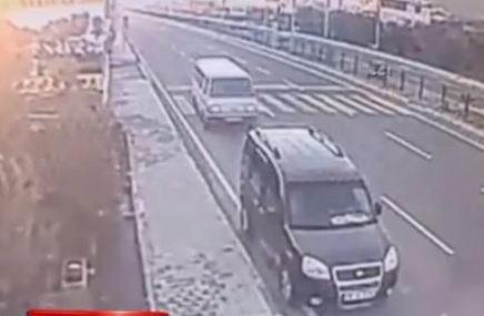 Güvenlik Kameralarına Yansıyan Kazada Ölen Marangoz Toprağa Verildi