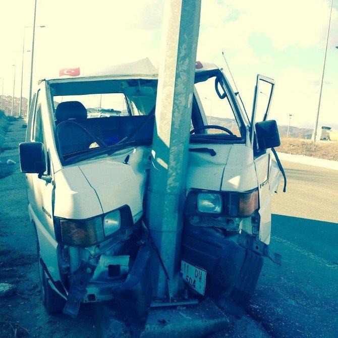 Bozüyük'te Trafik Kazası 1 Yaralı
