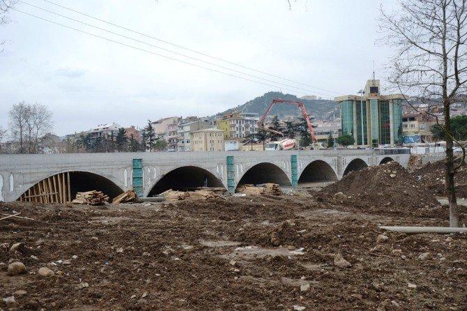 Kocabaş Köprüsü Yenileniyor