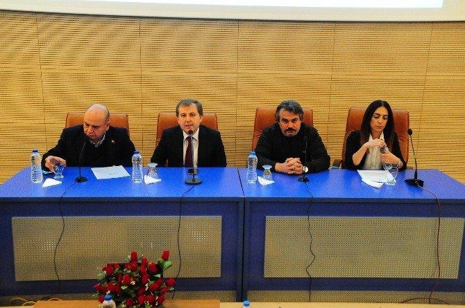 Uşak'ta Kış Sporları Ve Murat Dağı Termal Kayak Merkezi Konferansı Düzenlendi